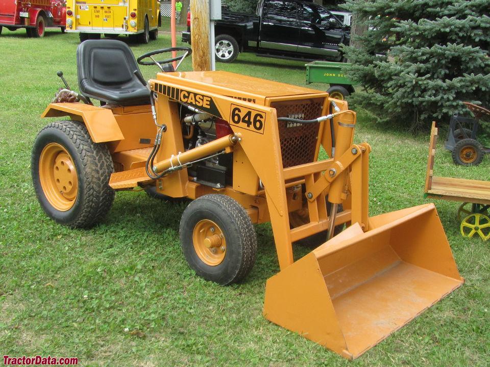 Tractordata Com J I Case 646 Tractor Photos Information