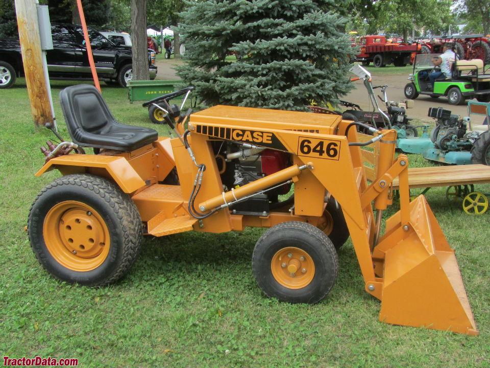 J I Case 646 Tractor Photos Information