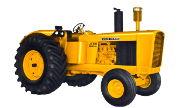 John Deere 700A industrial tractor photo