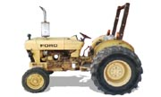 Ford 250C industrial tractor photo