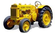 John Deere BI industrial tractor photo