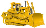 Caterpillar D9L industrial tractor photo