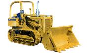 International Harvester 100E industrial tractor photo