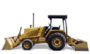 John Deere 210C industrial tractor photo
