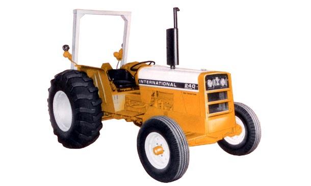 International 240 Tractor : Tractordata international harvester a industrial