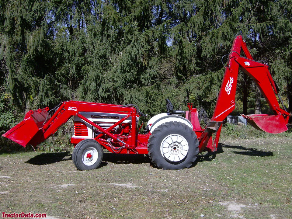 Industrial Ford 2000 Tractor : Tractordata ford industrial tractor photos