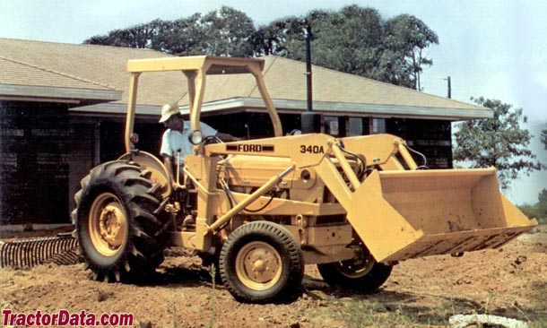 Industrial Ford 2000 Tractor : Ford industrial backhoe
