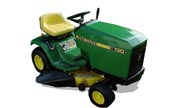 John Deere 130 lawn tractor photo