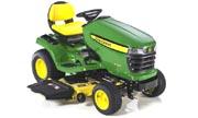 John Deere X320 lawn tractor photo