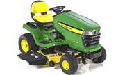 John Deere X324 lawn tractor photo