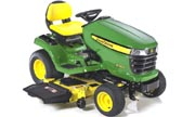 John Deere X340 lawn tractor photo