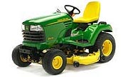 John Deere X475 lawn tractor photo