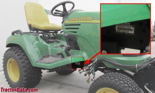Tractordata Com John Deere X475 Tractor Information