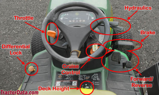 John Deere X475 K92 transmission photo
