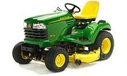 John Deere X485 lawn tractor photo