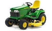 John Deere X495 lawn tractor photo