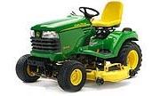 John Deere X495 lawn tractor photo
