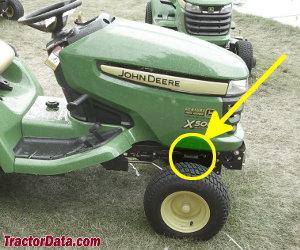 TractorData com John Deere X500 tractor information