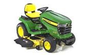 John Deere X520 lawn tractor photo