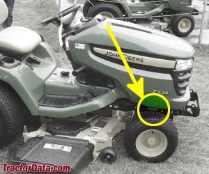 tractordata com john deere x534 tractor information  john deere x534 wiring diagram #13