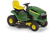 John Deere 135 lawn tractor photo