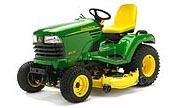 John Deere X575 lawn tractor photo