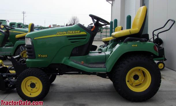 John Deere X585