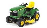 John Deere X700 lawn tractor photo
