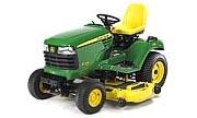 John Deere X724 lawn tractor photo