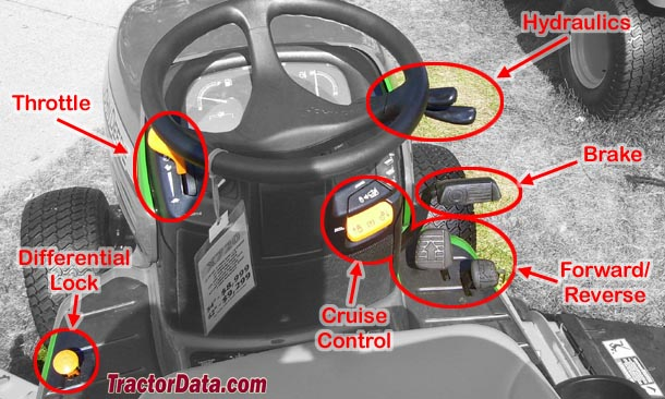 John Deere X744 K92 transmission photo