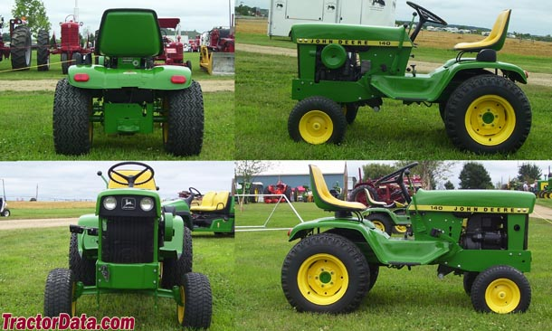John Deere 140 walk around photo