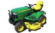 John Deere X748 lawn tractor photo