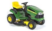 John Deere LA100 lawn tractor photo
