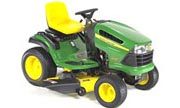 John Deere LA130 lawn tractor photo