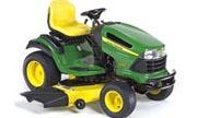 John Deere LA150 lawn tractor photo