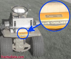 Allis Chalmers B-207 serial number location