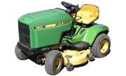 John Deere 160 lawn tractor photo