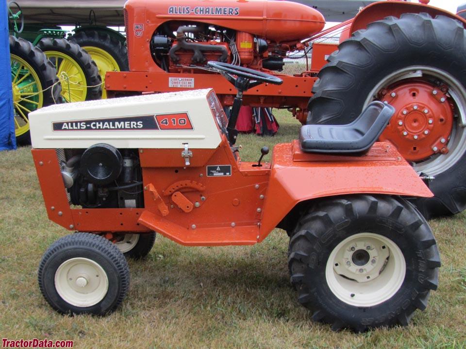 Td B Ext on Allis Chalmers Garden Tractors Sale