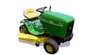 John Deere 165 lawn tractor photo