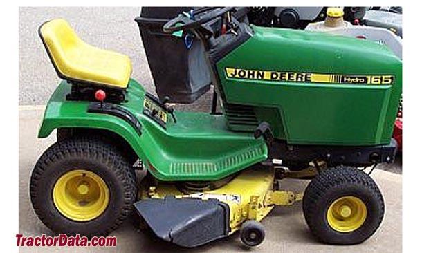 John Deere 165 Hydro Parts : John deere hydro parts tractor engine and