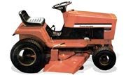 Allis Chalmers 810GT lawn tractor photo