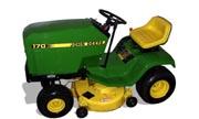 John Deere 170 lawn tractor photo