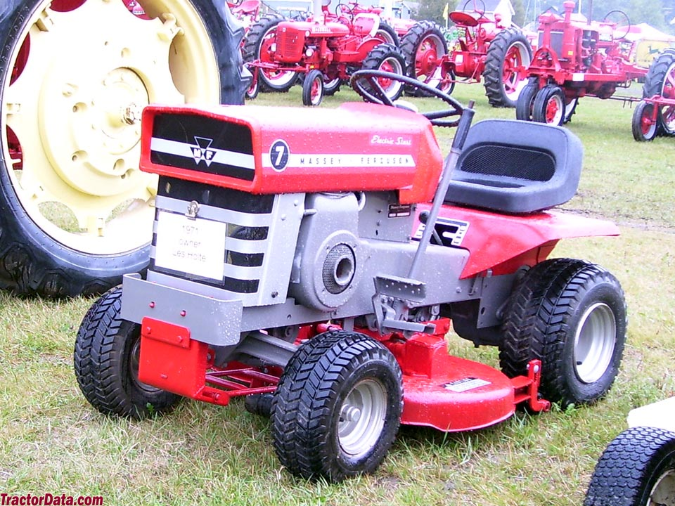 Massey Ferguson Yard Tractors : Tractordata massey ferguson tractor photos information
