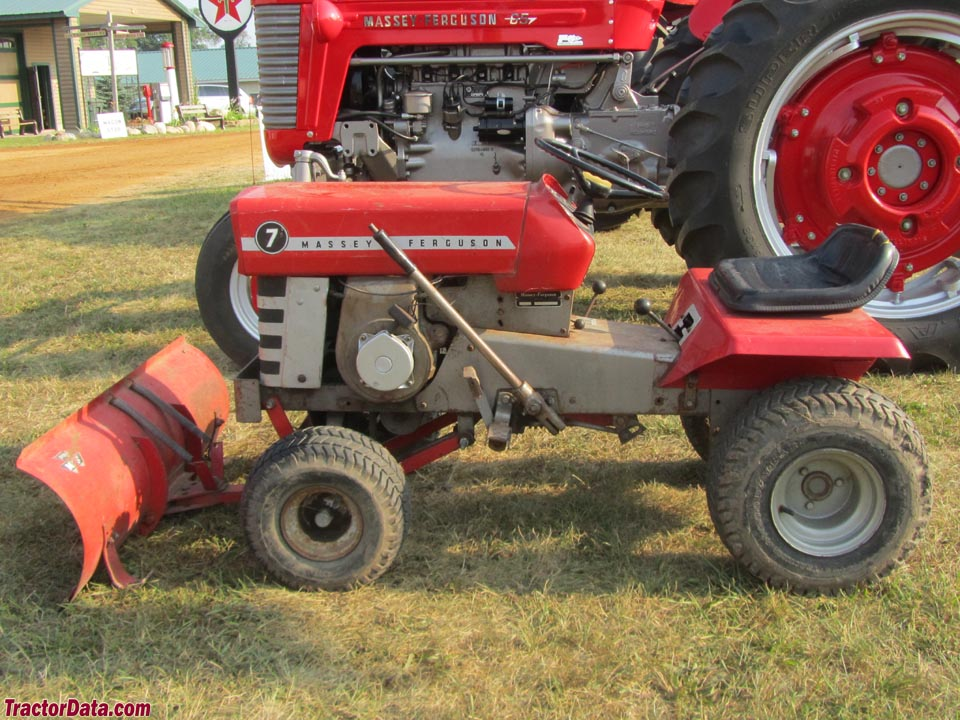 Massey Ferguson 7 With Front Blade.