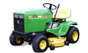 John Deere 185 lawn tractor photo