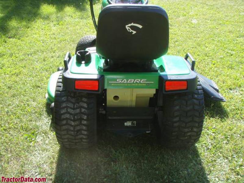 John Deere Sabre >> TractorData.com Sabre 2554HV tractor photos information