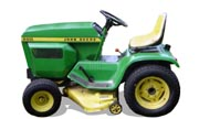 John Deere 200 lawn tractor photo