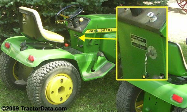 Tractordata john deere 210 tractor information photo of 210 serial number asfbconference2016 Images
