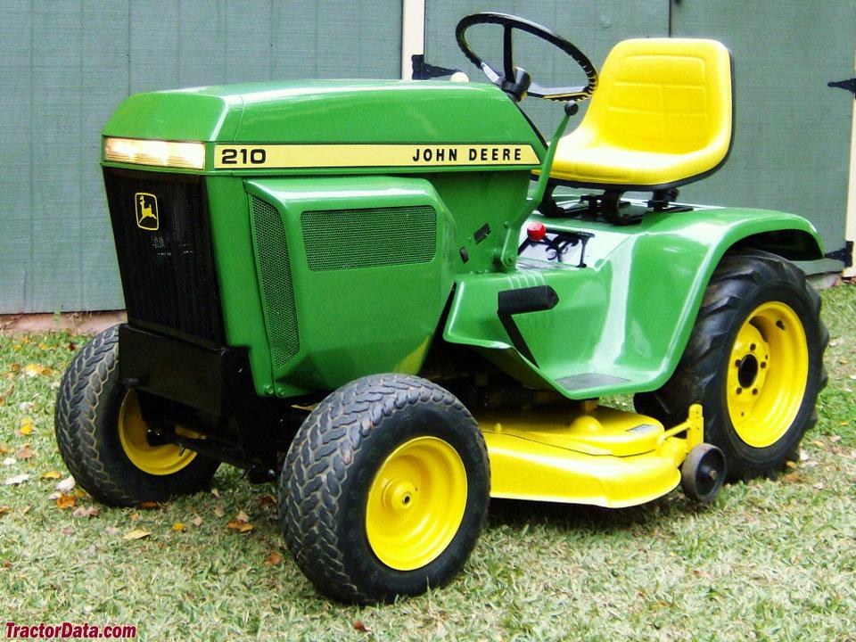 Tractordata Com John Deere 210 Tractor Photos Information
