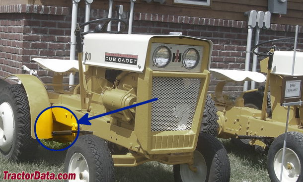 Cub Cadet 100 serial number location